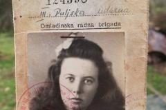 Marija Špigić s iskaznice