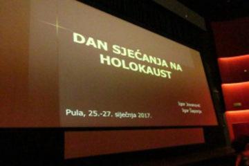 Izvješće s edukacije učenika povodom obilježavanja Dana sjećanja na holokaust