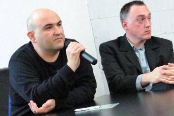 """Predavanje Igora Jovanovića i Igora Šaponje """"Anita Kovačič – u logoru s Anne Frank"""" u Puli"""